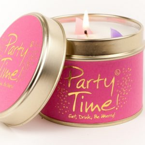 Lily Flame Party Time Scented Candle